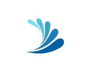 water splash logo