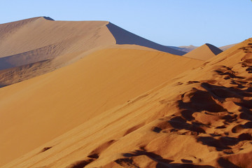 The majestic red dune. Shot in Deadvlei, Naukluft National Park