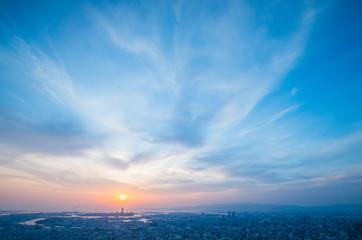 Osaka harukas tower,japan