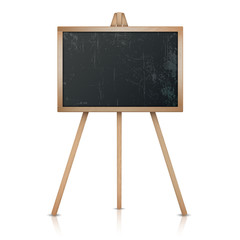 School board isolated on a white background