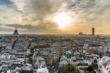 Paris, vue aérienne