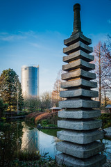 Japanischer Garten Rheinaue Bonn am Rhein