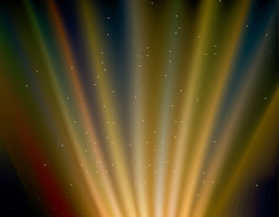 aurora rays background.northern lights.