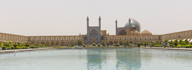 Imam Mosque at Naghsh-e Jahan Square in Isfahan, Iran