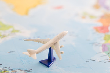 飛行機での旅