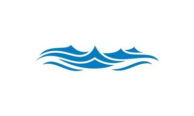 wave water ocean vector logo