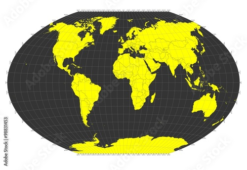 World sphere no labels gray grid lines yellow countries world sphere no labels gray grid lines yellow countries publicscrutiny Gallery