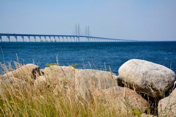 Öresund Brücke - Straße von Dänemark nach Schweden