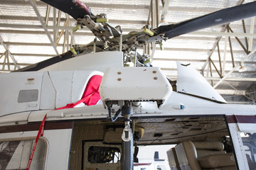 helicopter  rescue hoist