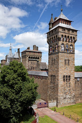 Clock Tower, Cardiff Castle, Liverpool