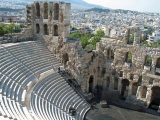 Athènes, le théâtre d'Hérode Atticus, Grèce