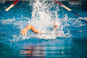 Swimming and athletics