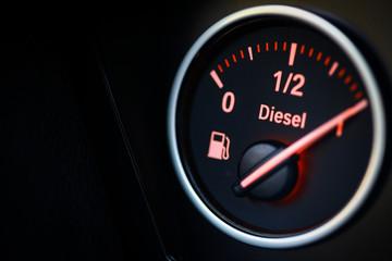 Fuel gauge - diesel