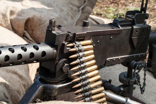 Machine gun ammunition and parts