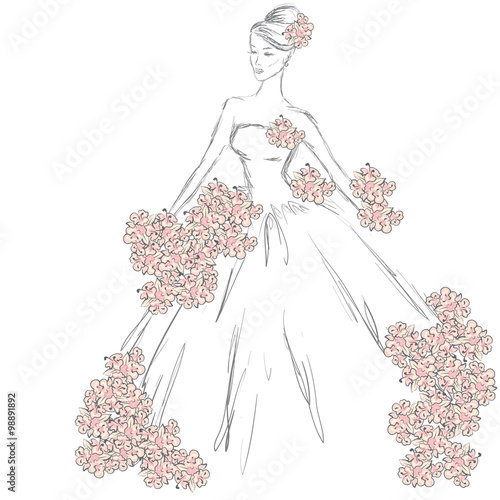 as well elsas castle pink blue birthday cake as well Plain dress besides WInx Fairies Bloom Princess Ball further  moreover  additionally  furthermore kates wedding dress as well  besides marisole elvish princess paper doll BW also . on coloring pages disney princess wedding gown