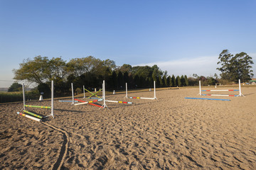 Equestrian Jumping Arena Poles