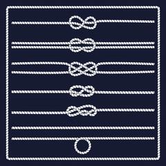 Marine rope knot