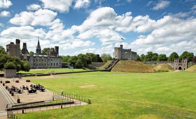 Cardiff Castle und Herrenhaus, Wales