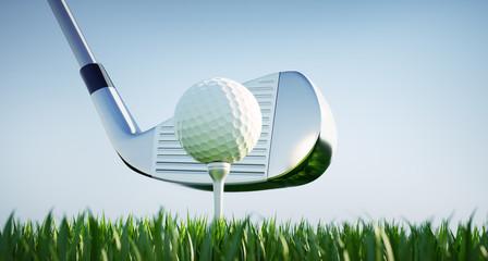 Poster Golf Motiv Golfclub