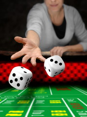 dices throw in online casino