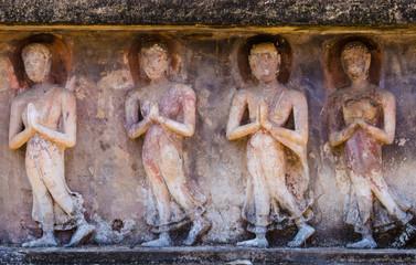 four old buddha image