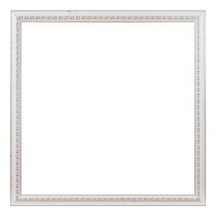 Antique white frame