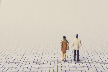 夫婦喧嘩と迷路