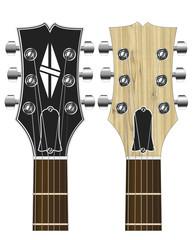 Kopfplatte Elektro Gitarre Les Paul ähnlich