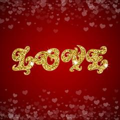 LOVE text message