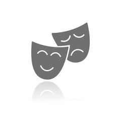 Icono Teatro Máscaras FB REFLEJO