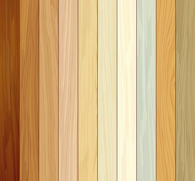 Wood collections colored ten realistic texture design background