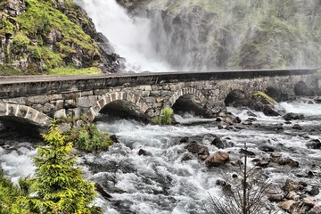 Latefossen, Norway
