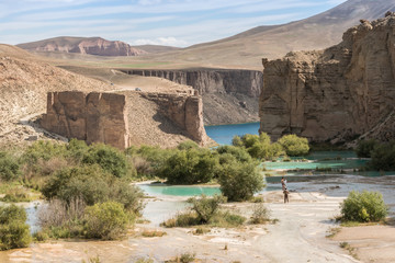 band-e amir national park - afghanistan