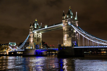 Tower Bridge Night Scene
