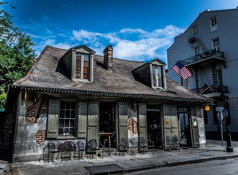 New Orleans Bourbon Street Blacksmith Bar
