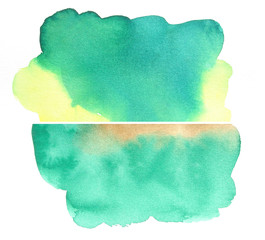 aqbstract watercolor background design