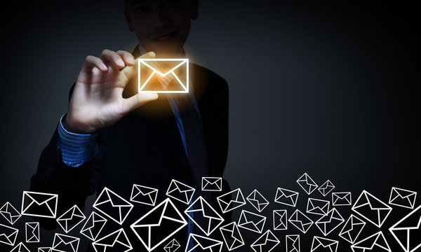 Business email concept