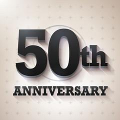 50th Anniversary 3D black