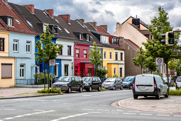 Bremen colorful house