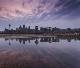 Angkor Wat in Siem reap , Cambodia