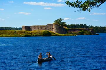 Schlossruine Kronoberg in Växjö