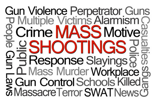Mass Shootings Word Cloud