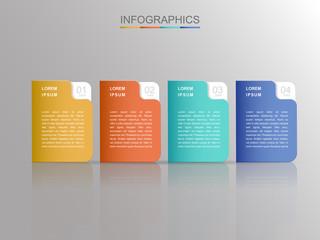 contemporary infographic design