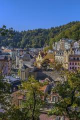 View of Karlovy Vary, Czech republic