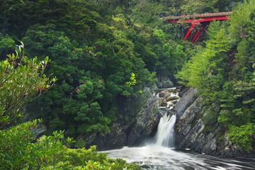 The Toroki Falls on Yakushima Island, Japan