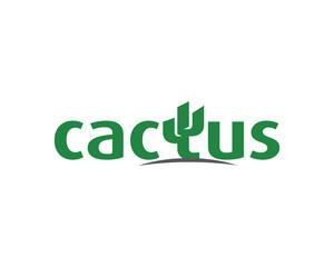 Cactus finance Logo Template