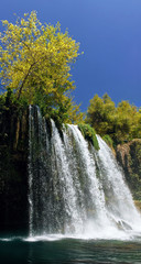 Duden waterfall in Antalya
