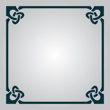 Elegant Celtic frame