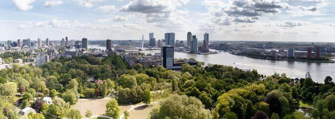 The Skyline of Rotterdam Holland