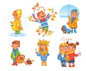 I love autumn. Walk on outdoors